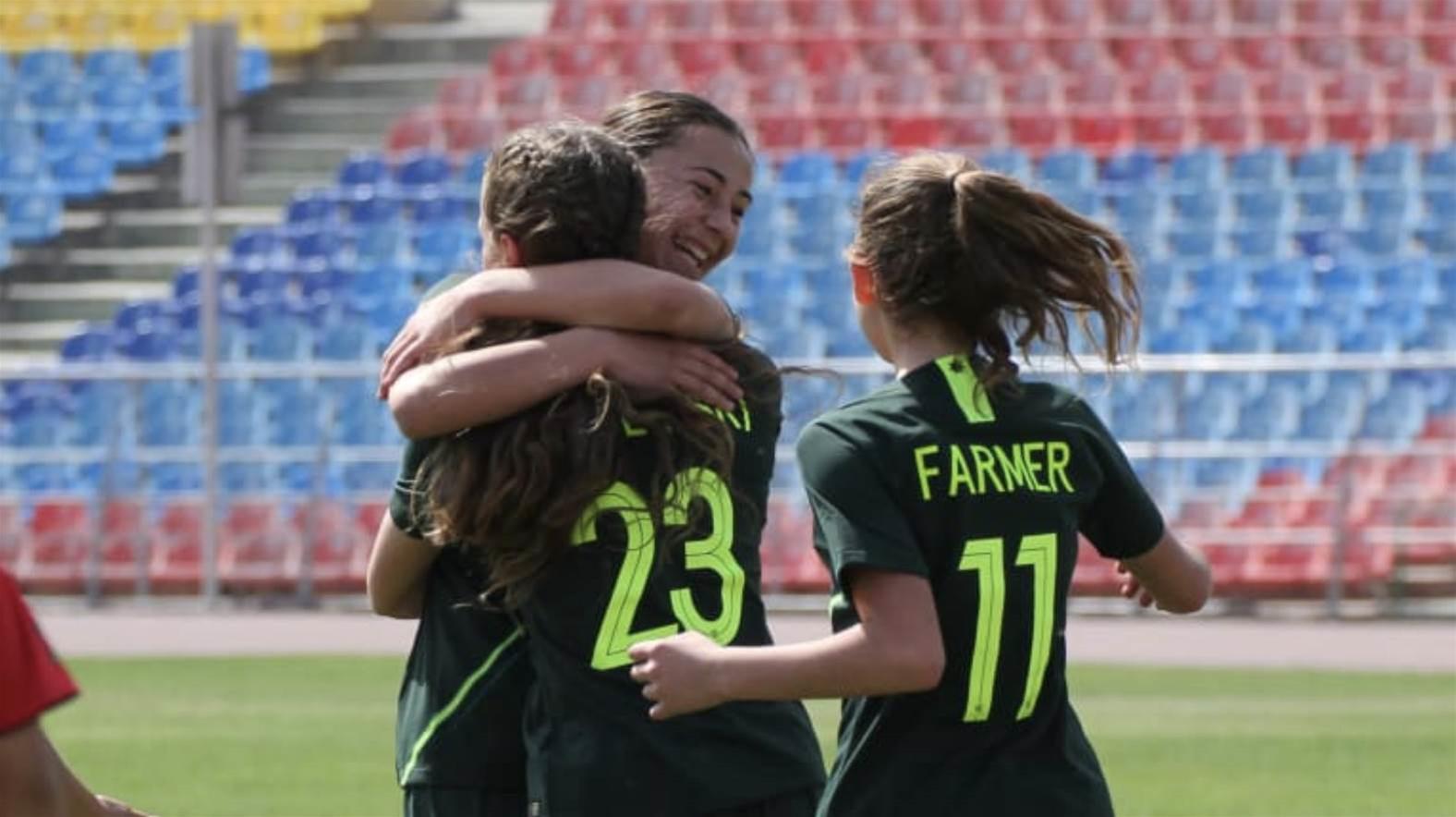 Junior Matildas start qualifiers with big win