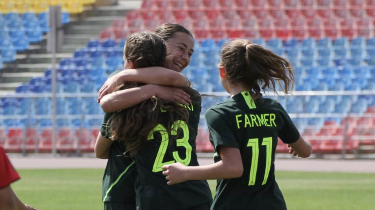 Junior Matildas start qualifiers with big win