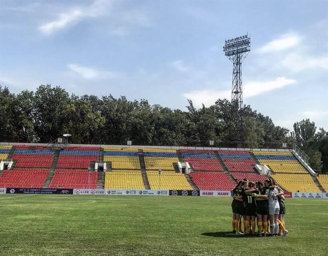 Junior Matildas continue goalscoring rampage