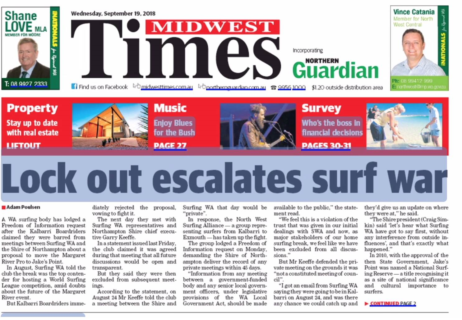 North West Surfers Demand Involvement in All WSL Dialogue.