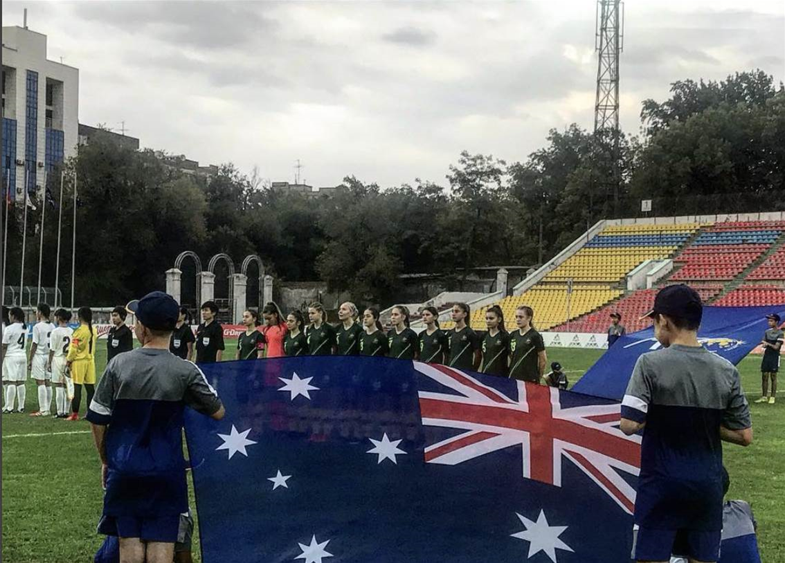 Seventh heaven as the Junior Matildas cruise past Chinese Taipei