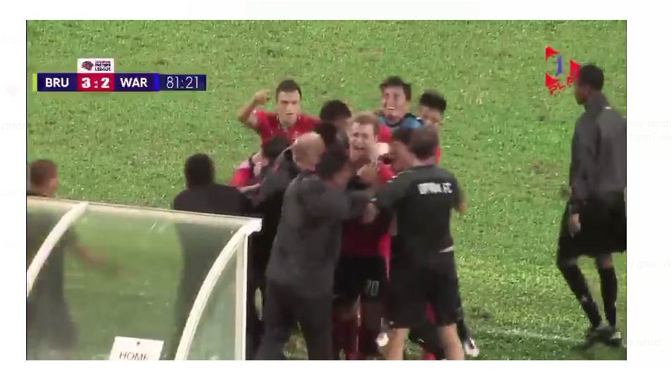Aussie scores brilliant go-ahead goal in Asia