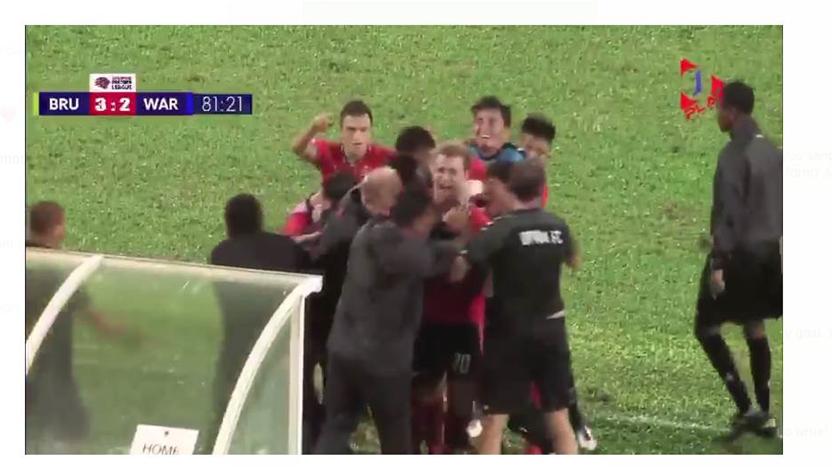 Aussie scores brilliant go-ahead goal in Asia