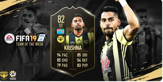 A-League star named in FIFA 19 TOTW for second time