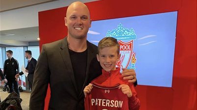Aussie kid signs for Liverpool
