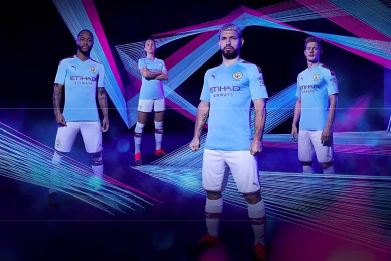 Manchester City release first kits after $1 billion Puma deal