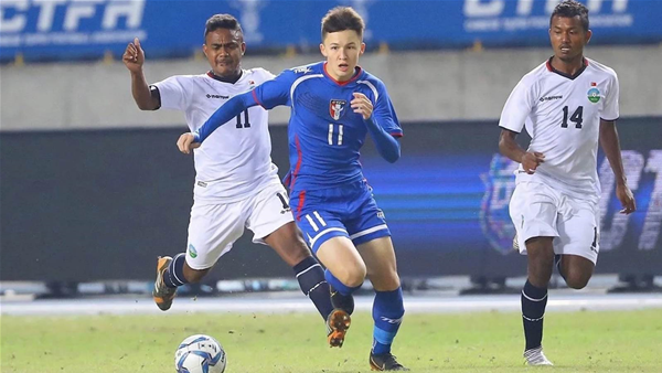Taiwan's Eton teen eager to face Socceroos