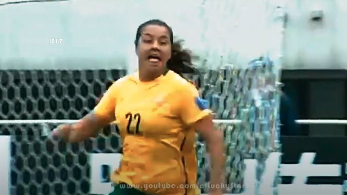 WATCH! 10 year anniversary of Kerr's first Matildas goal
