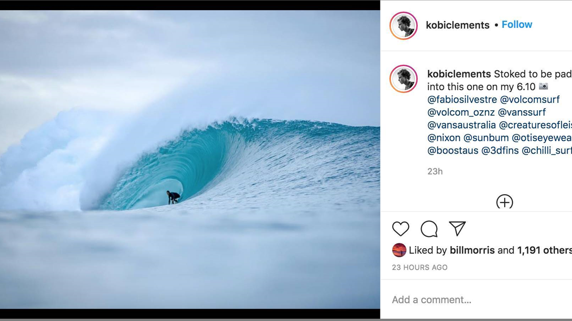 Did Kobi Clements Ride the Wave of the Swell?