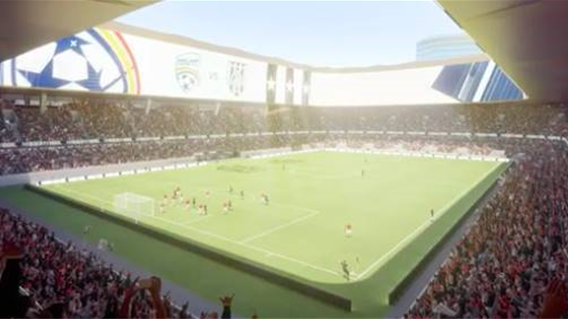 New Adelaide United stadium proposed with elevated pitch