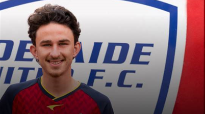 A-League's Adelaide sign 18-year-old 'revelation'