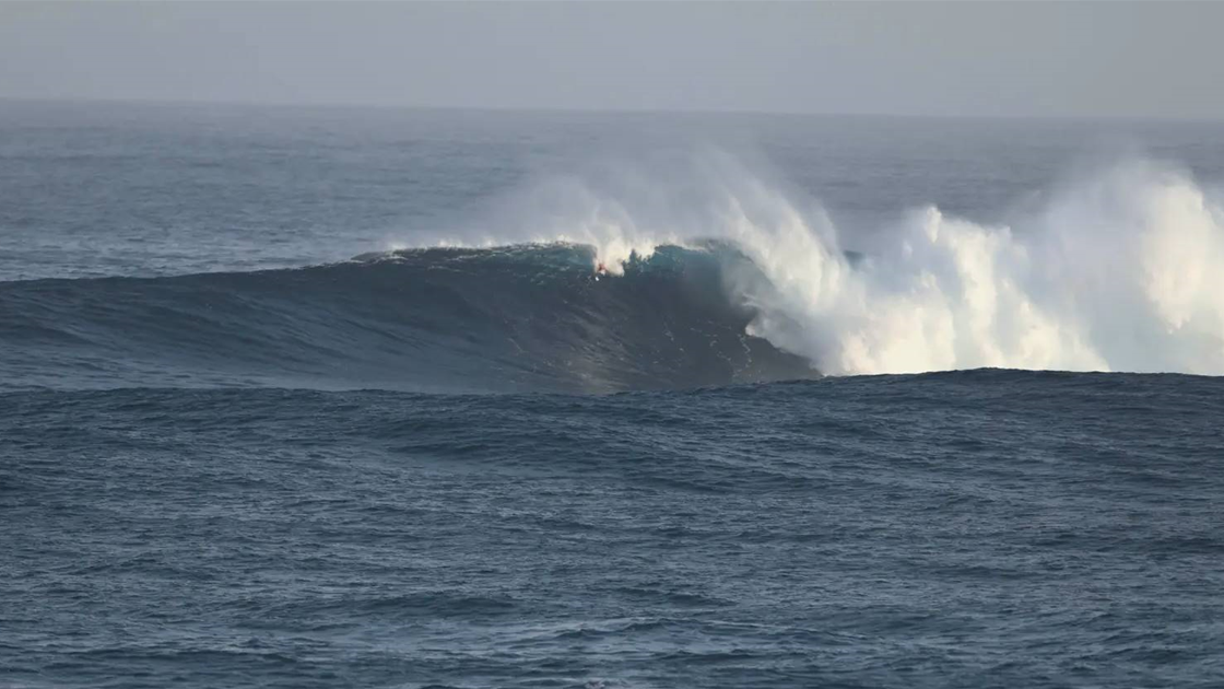 Watch: Bodysurfer's Solo, Big Wave Session