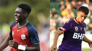 Two A-League starlets named in 60 best young players in the world
