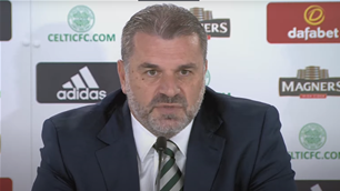 Postecoglou hits back in first Celtic press conference: 'I don't know what you mean'