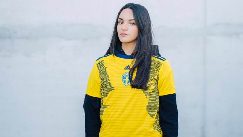 adidas unveil Sweden's World Cup kit for International Women's Day
