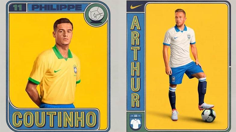 Nike stray from 69-year trend for 2019 Brazil kits