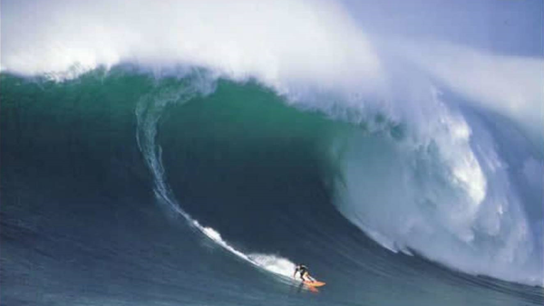 Waves That Mattered: Ken Bradshaw's Biggest Wednesday at Log Cabins