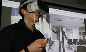 Newcastle Uni taps biofeedback in VR conflict training