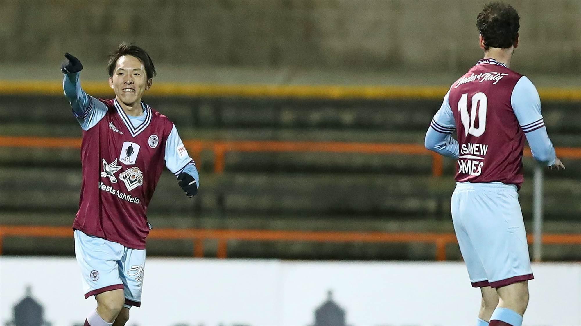 Sekiya: I can't believe I scored two!
