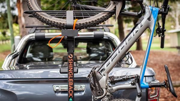 TESTED: Shingleback 2B90 vertical bike rack