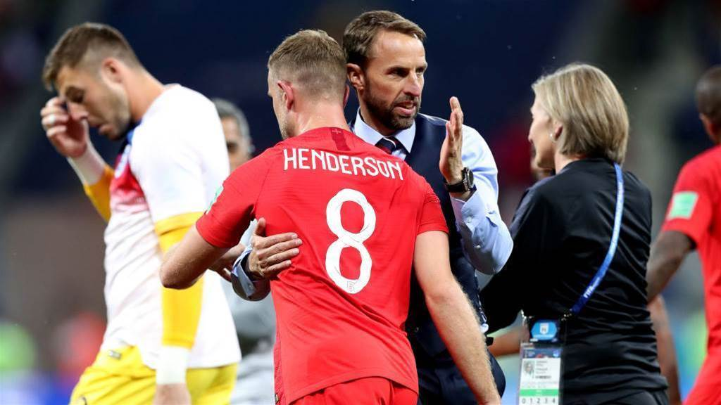 Southgate pleased with teams' attacking endeavors