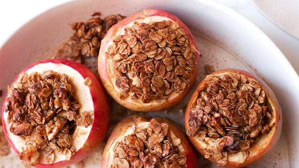 Warm Stuffed Apples