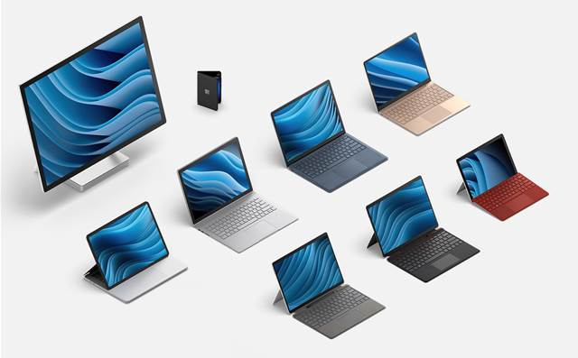 Microsoft announces 5 new Surface devices