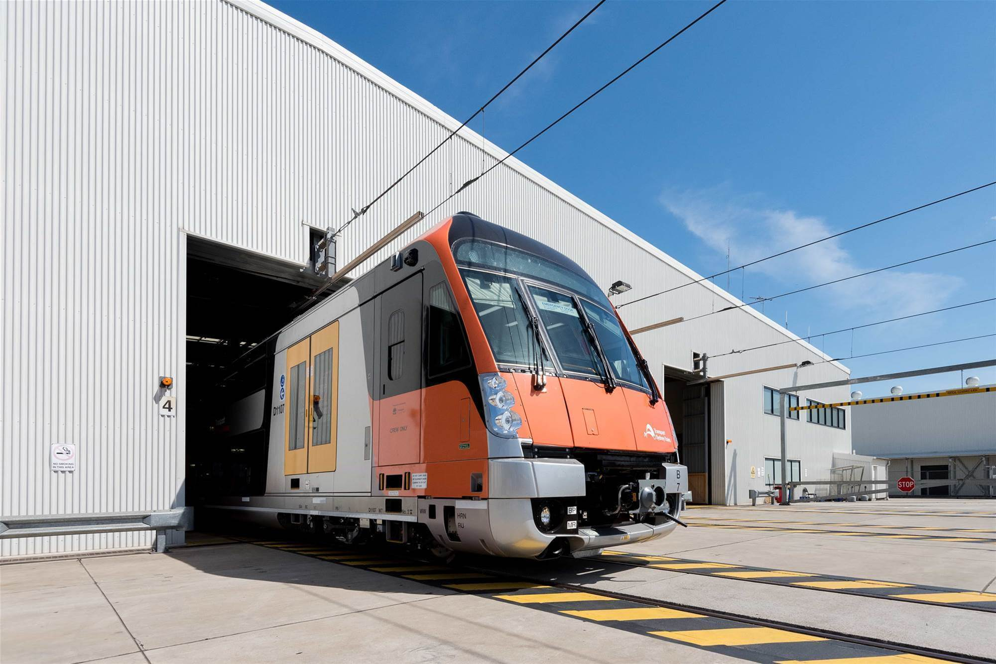 Engineers tap massive stream of IoT data from Sydney trains