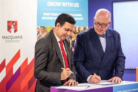 TCS partners with Macquarie Uni for AI finance skills