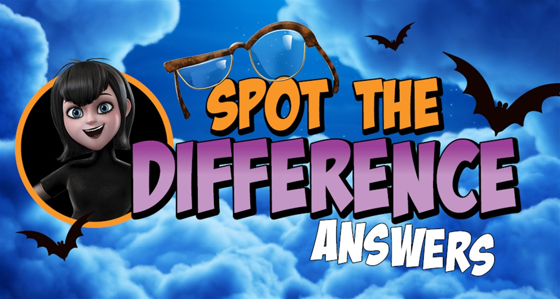 Hotel Transylvania   Spot the Difference (SPOILER: Answers revealed!)