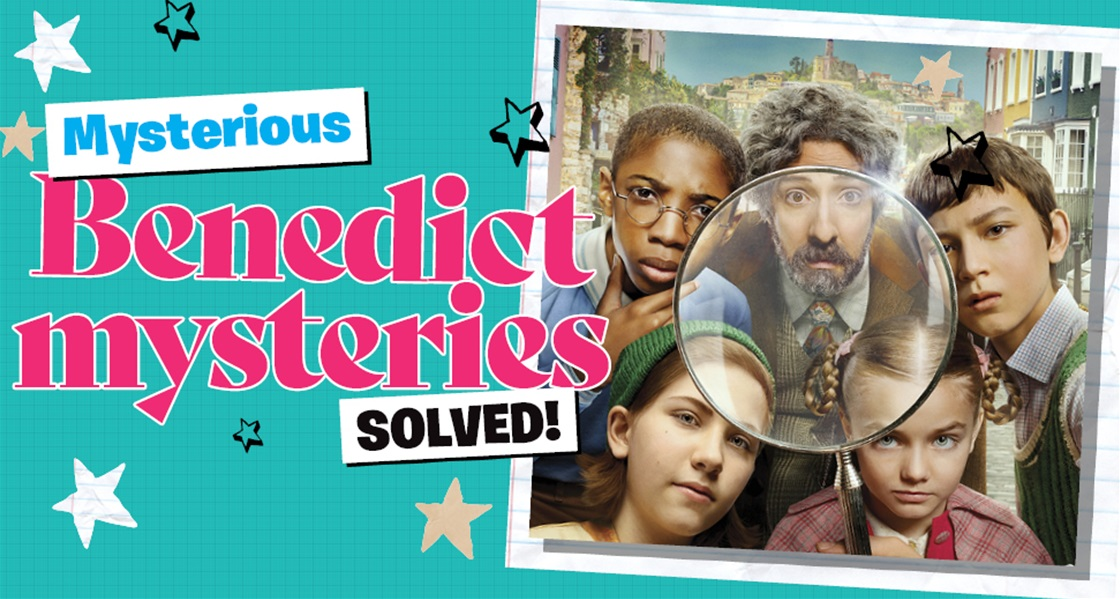 Mysterious Benedict mysteries solutions! (SPOILER: Answers revealed)