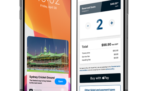 Ticketek adds an App Clip for scan and go event tickets