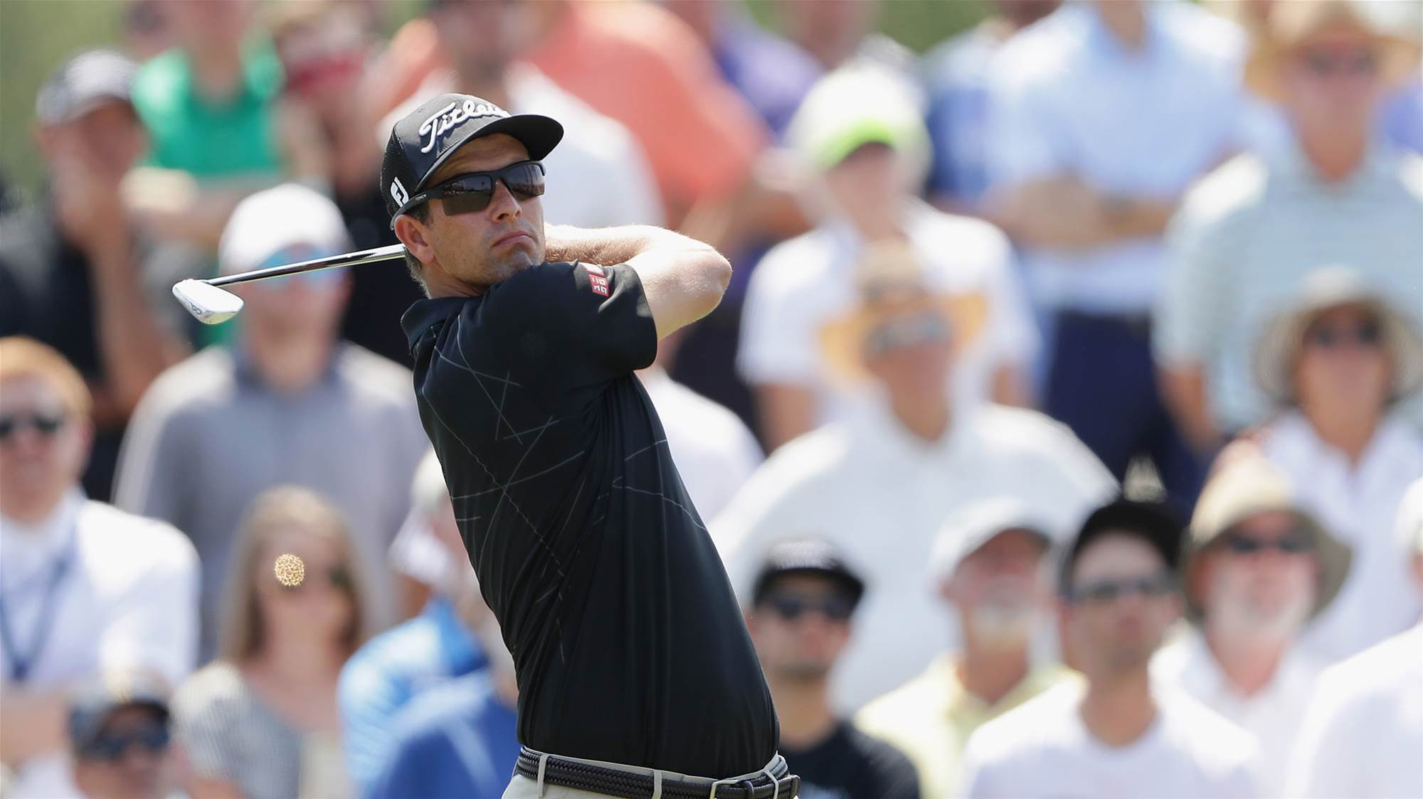 Scott, Day solid on day one at the Players