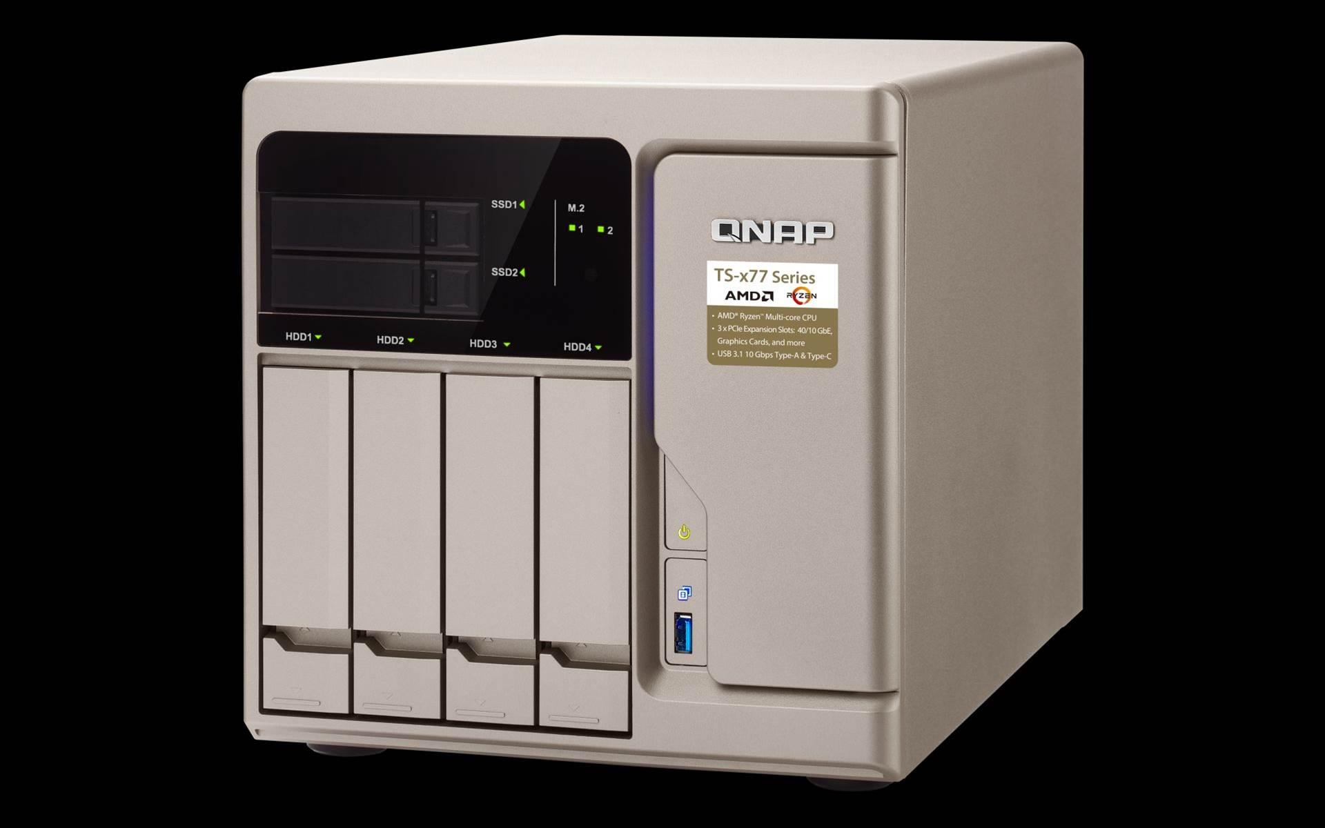 Review: QNAP TS-677-1600-8G NAS