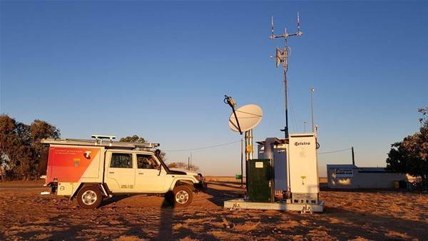 Telstra connects remote Queensland town of ten to mobile network