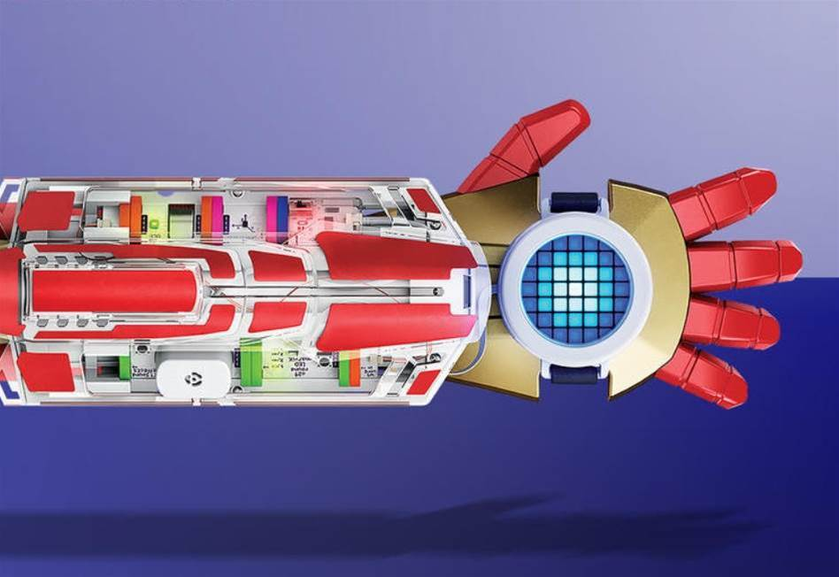 The Avengers Hero Inventor Kit can turn your kid into a miniature Iron Man