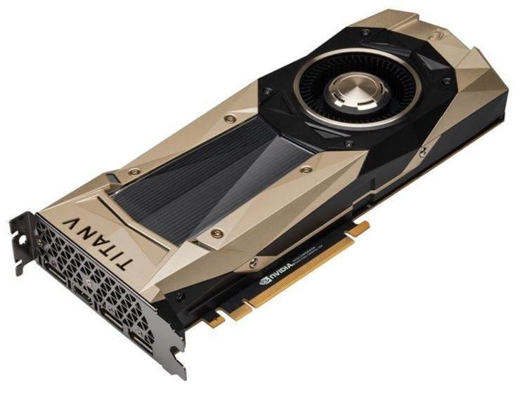 Titan V benchmarks surface online