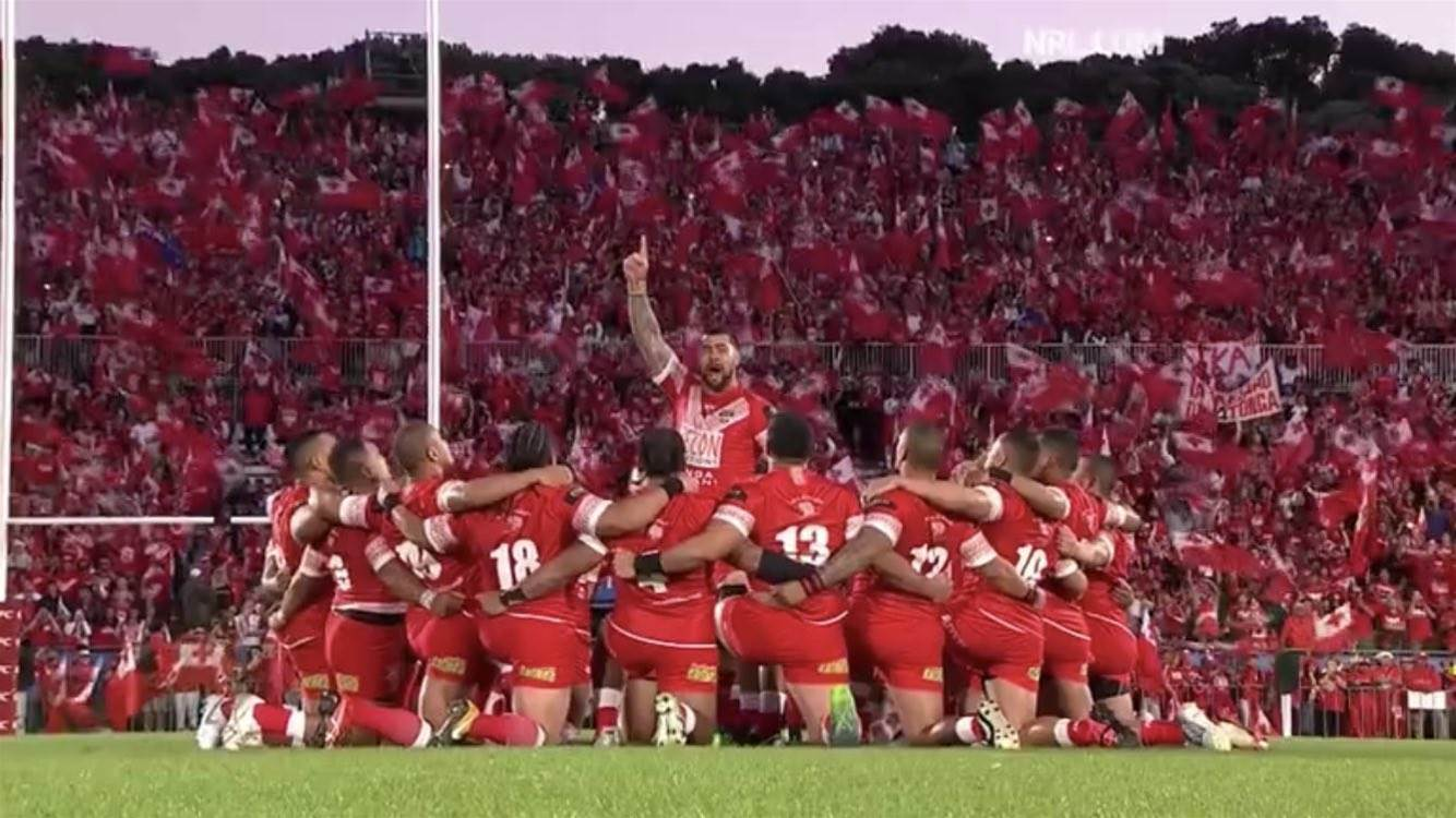 Kangaroos take down Tonga