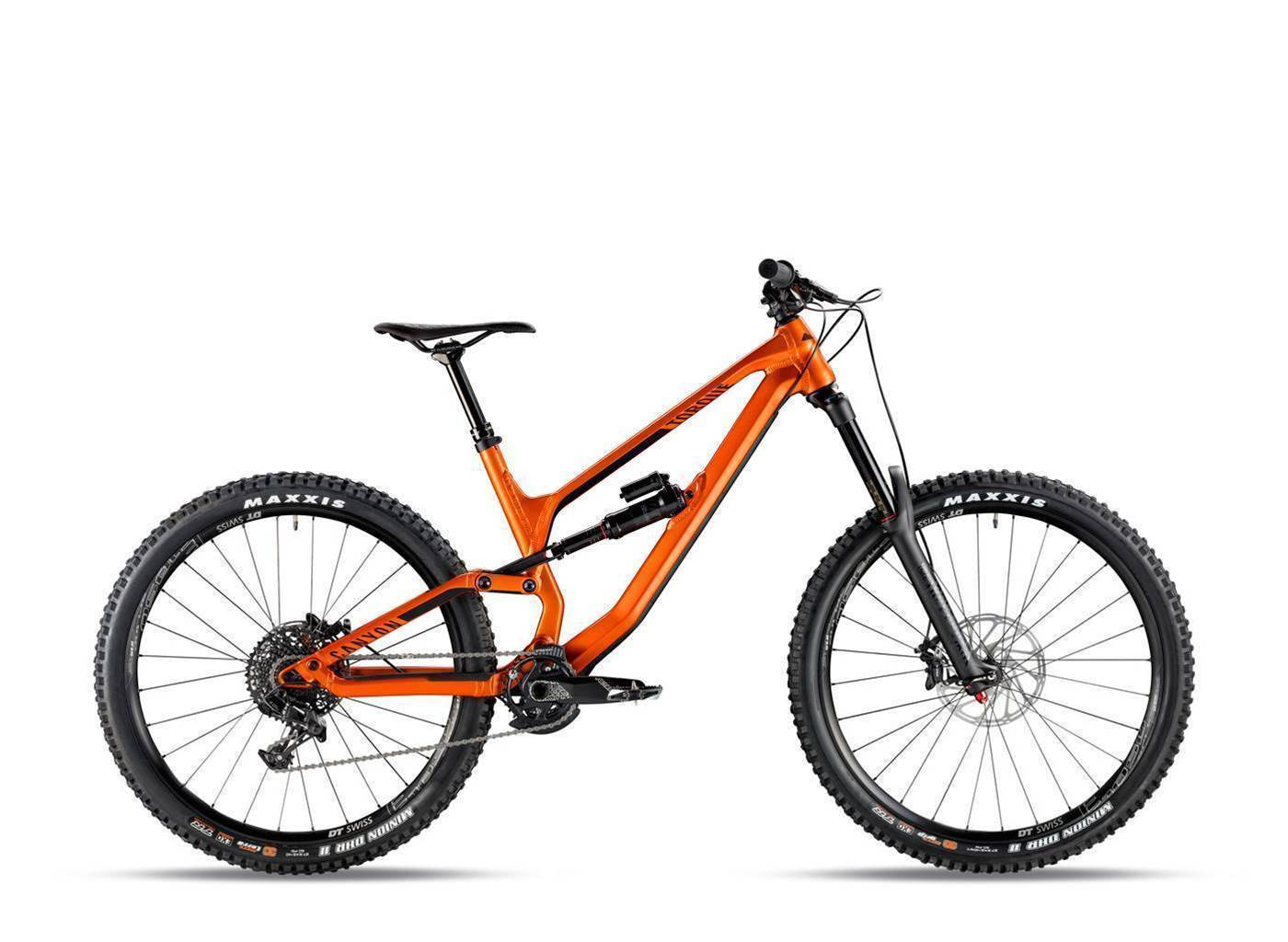 Canyon shake up their gravity range for 2018