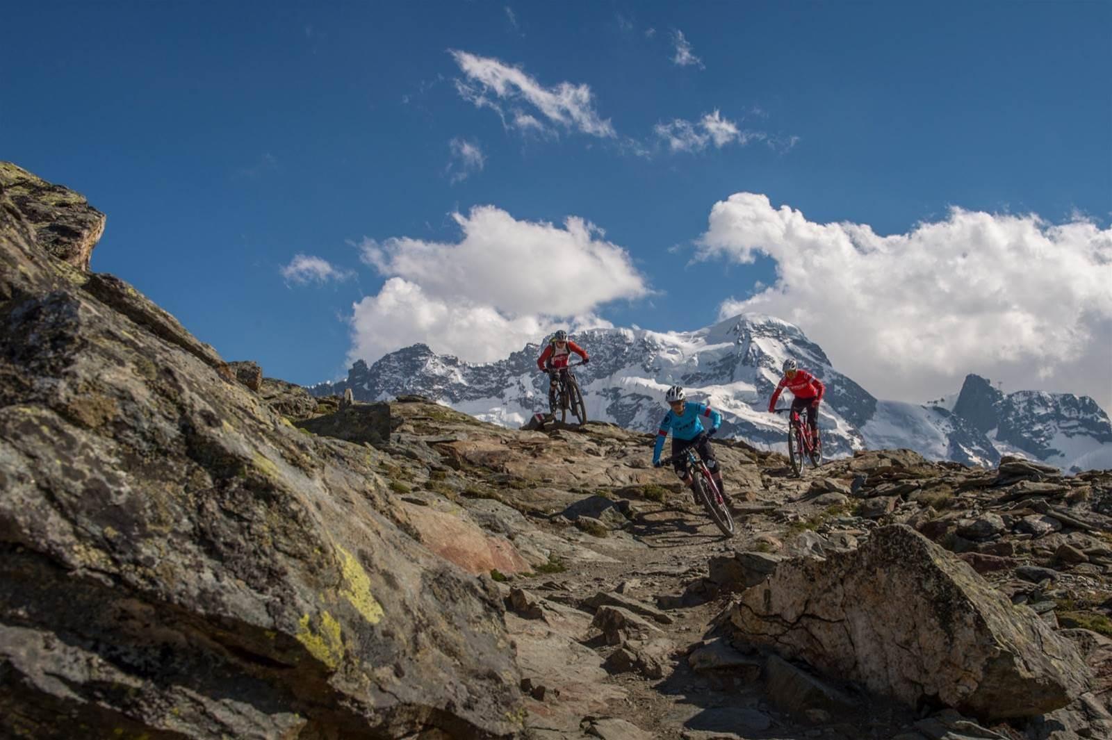 The EWS in Zermatt