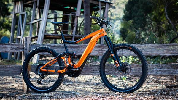 Bike Check: Paul van der Ploeg's Giant Trance E+