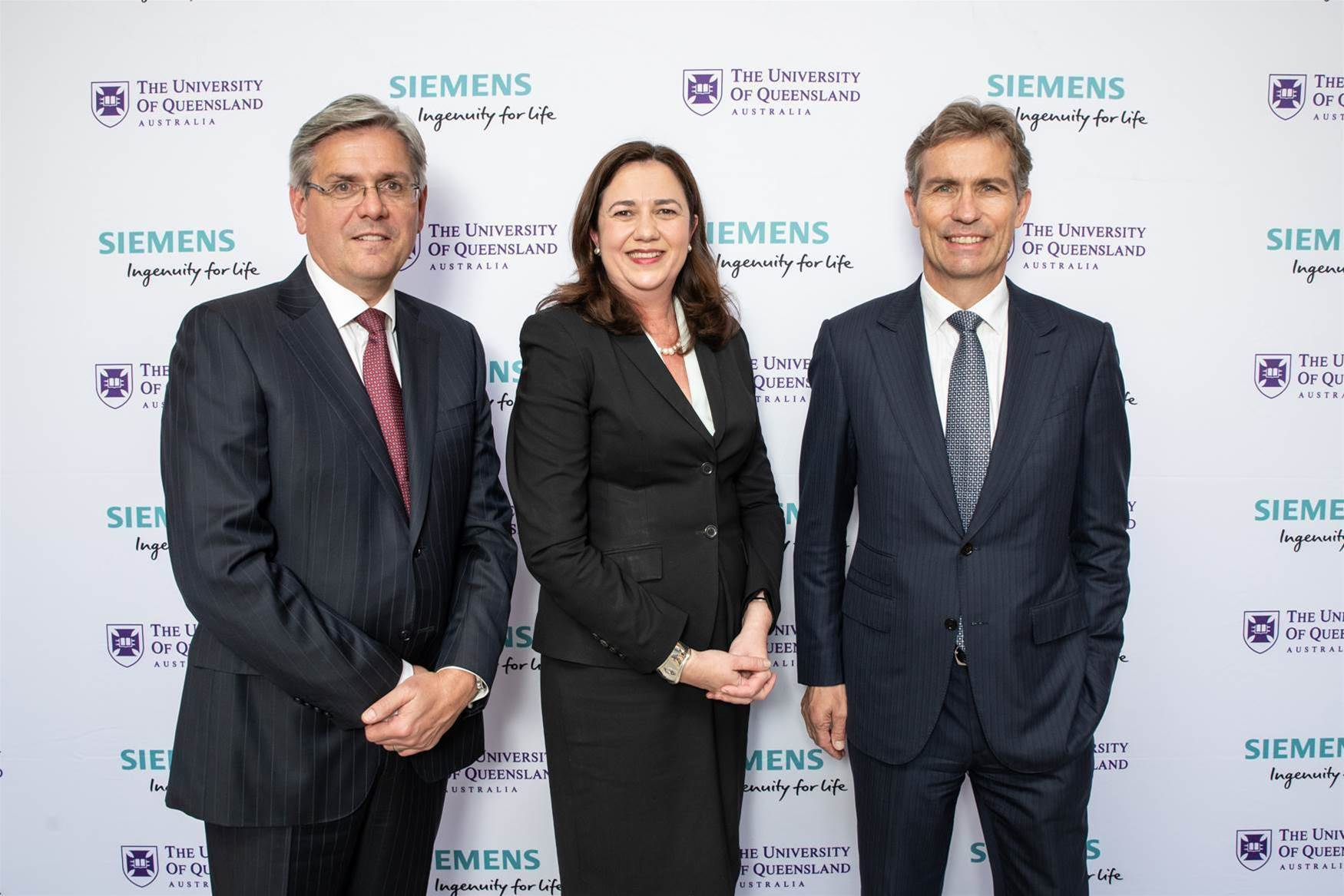 UQ receives $500m software grant from Siemens
