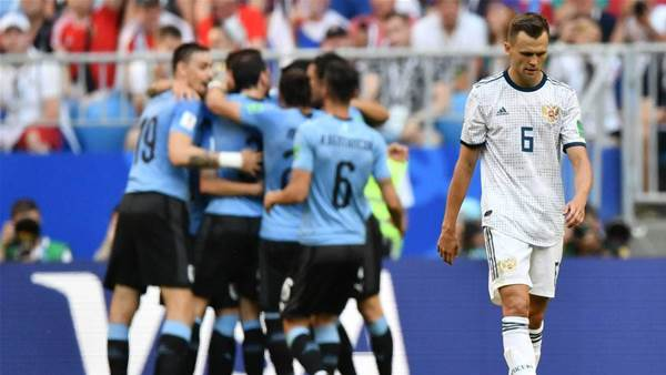 Uruguay v Russia player ratings