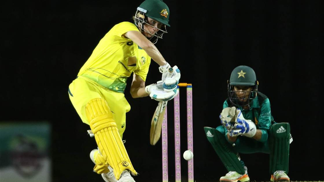 Aussies seal T20I series