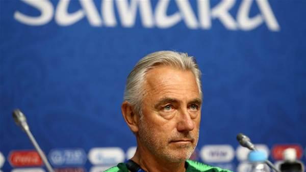 Mardy van Marwijk ahead of Denmark game