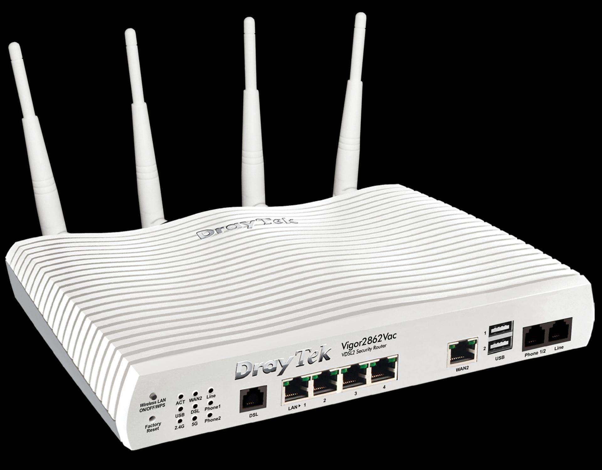 Review: Draytek Vigor2862Vac VDSL2 Wi-Fi VoIP Router