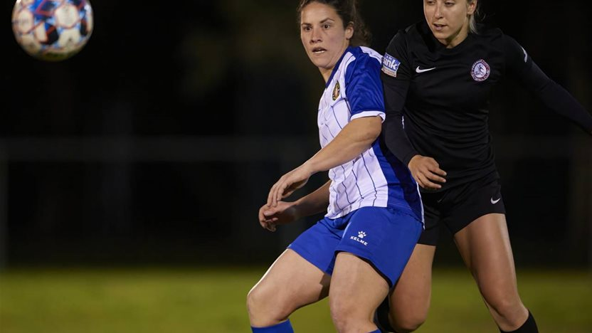 Aussie viral sensation on her 'worldie' rabona in WA NPL