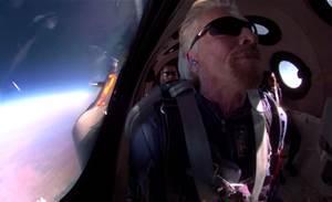 Billionaire Branson soars to space aboard Virgin Galactic flight