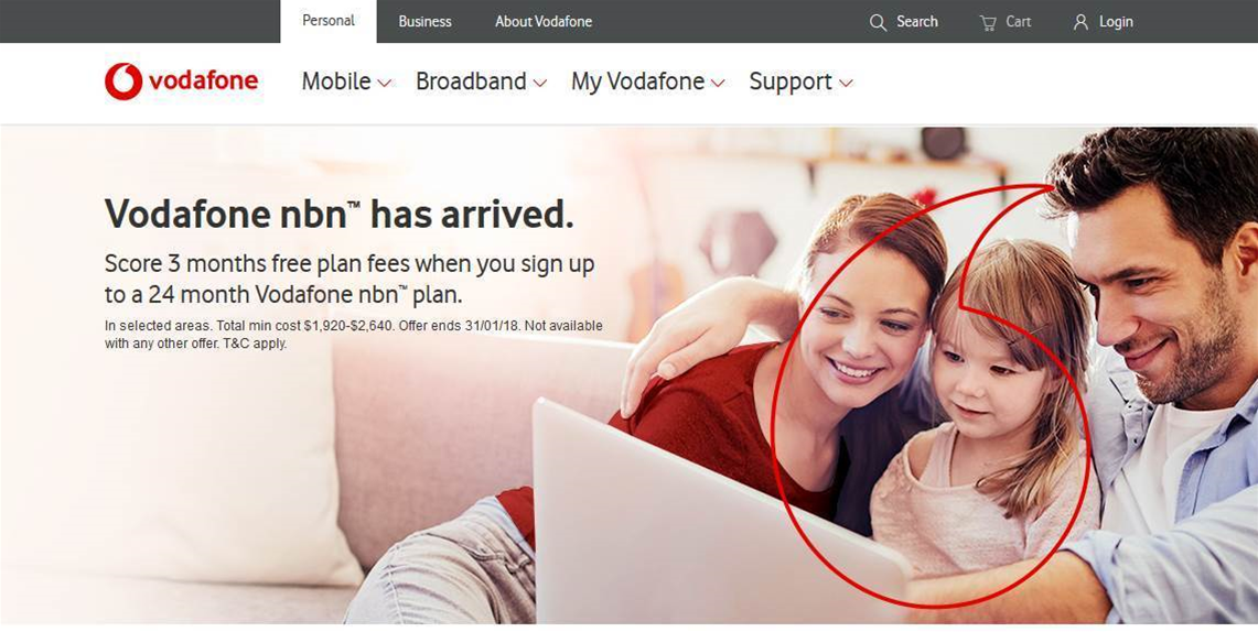 Vodafone starts selling NBN services