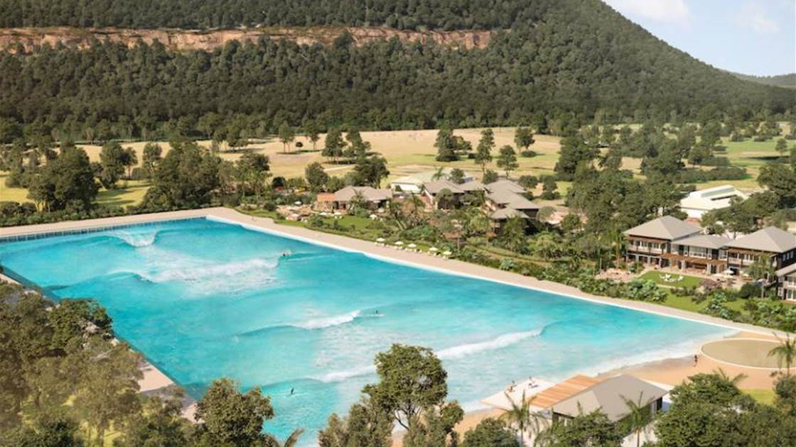 Country Club Surfing Comes to Oz